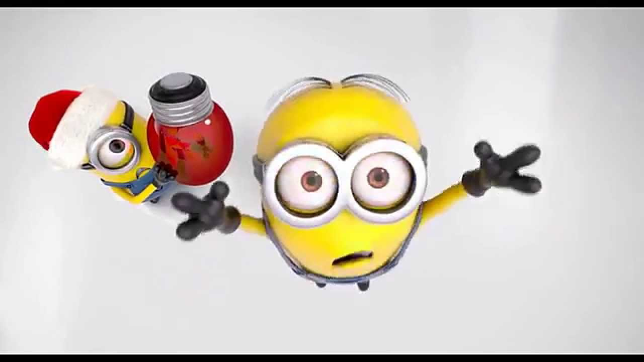 Minions Christmas Lights - PicsOn DVD - YouTube