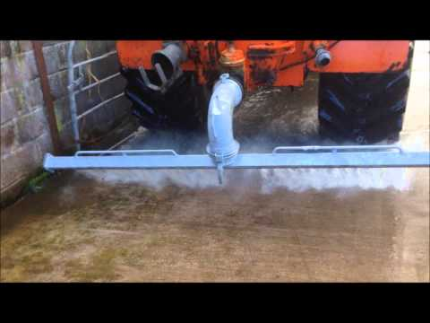 WATER SWEEP - Yard cleaning system - Tanker Attachment