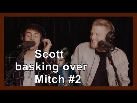 Pentatonix - Scott basking over Mitch #2