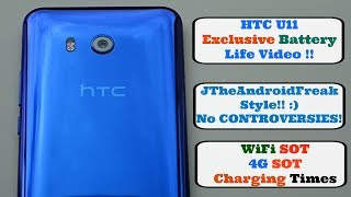 HTC U11 - Battery Life (Incl SOT)