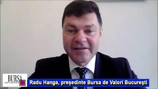 """Radu Hanga: """"Avem în vedere lansarea unui indice pentru AeRO"""""""
