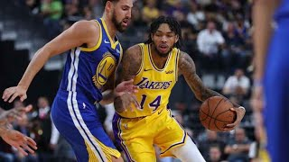 Los Angeles Lakers vs Golden State Warriors 111-130 full game highlights Jan 21, 2019