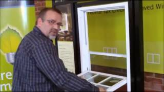 How Remove Sash Gl Vinyl Replacement Double Hung Or Single Hung Window