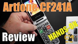 Artfone CF241A Test: Senioren Klapp Smartphone mit SOS Notruf - Hand...