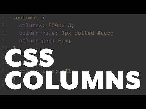 CSS Columns [Coding Quicky]