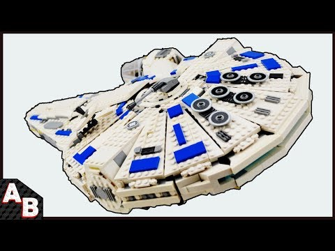 The BEST Way How to MODIFY/FIX the Lego SOLO Millennium Falcon 2018 (Extra pieces) 75212