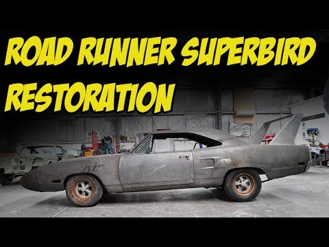 1970 Road Runner Superbird Resto - JC Classic Car Restorations