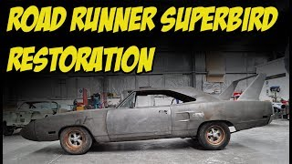 1970 Road Runner Superbird Resto - JC Classic Car Restorations
