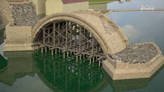 How bridges were built in Central Europe in the middle-ages