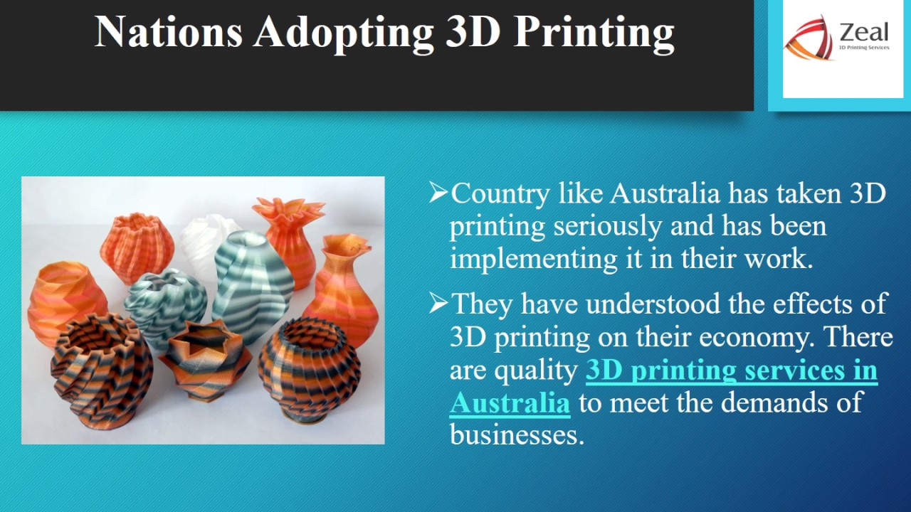 Amazing Ideas 3d Printing Business For 2017 Zeal 3d Printing