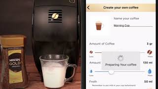 NESCAFÉ Gold Coffee Machine App Demo