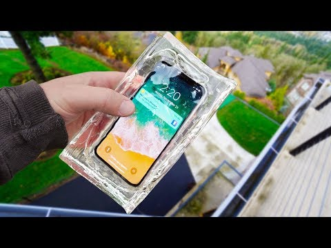 iPhone X Ballistic Gel Drop Test! - Mous Limitless Case Review