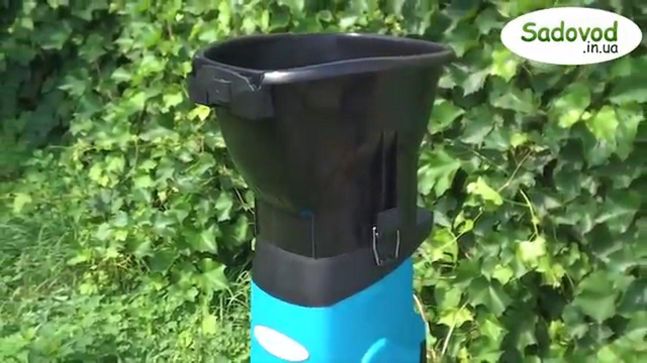 Садовый измельчитель - YouTube