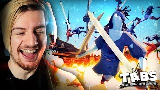 THIS IS TOO MUCH CHAOS!! || Totally Accurate Battle Simulator (NEW UNITS)