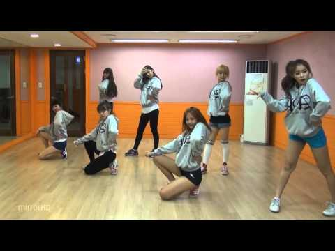 AOA - Get Out mirrored Dance Practice