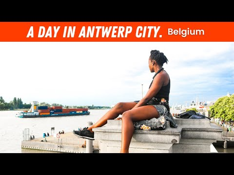 EP #75 | ANTWERP - SIGHTSEEING, AFRO HAIR SHOPS, ITALIAN FOOD & NIGHT OUT - TRAVEL JOURNEY VLOG!