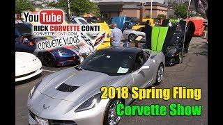 CORVETTE SHOW   SPRING FLING 2018   CHOSEN FEW CLUB