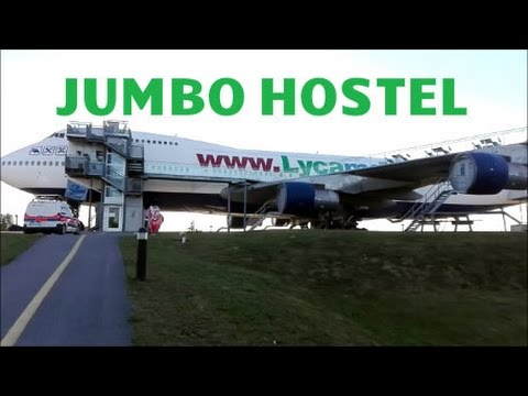 JumboStay Hotel Stockholm|Boeing 747 Hotel