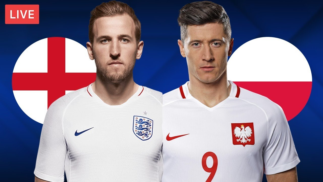 ENGLAND vs POLAND - LIVE STREAMING - World Cup Qualifiers - Football Match