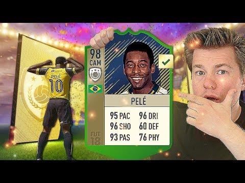 🔥 NIESAMOWITY PELÉ PRIME!!! 🔥🇧🇷 FIFA 18