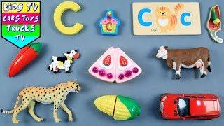 Learning Alphabet C For Kids Children Babies Toddlers | ABC For Kids Alphabets For Children Kids TV