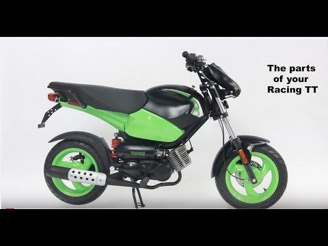 Tomos Racing TT Parts Tutorial - YouTube