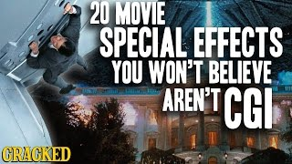 20 Movie Special Effects You Won't Believe Aren't CGI