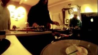 DJ Swamp jamming with DJ Qbert