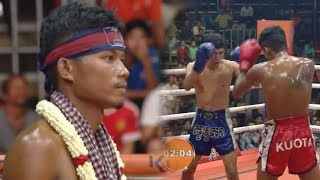 Rith Atith Vs (Thai) Anuntasak, 09/November/2018, BayonTV Boxing | Khmer Boxing​ Highlights