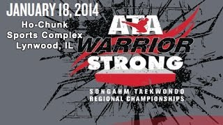 Warrior Within II - January 18, 2014 - Ho-Chunk Sports Complex, Lynwood, IL