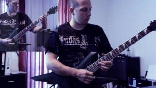 Judas Priest Battle Hymn & One shot at glory guitar cover - LRRG
