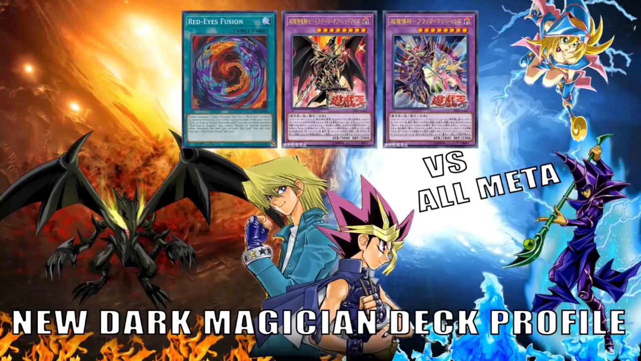 Dragun Of Red Eyes Dark Magician Deck New Support Ygopro Duels Yugioh 2019 Youtube Big eye x1 wee witch's apprentice x1. dragun of red eyes dark magician deck new support ygopro duels yugioh 2019