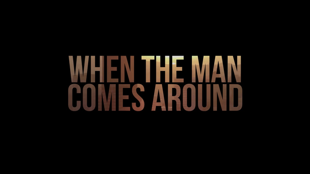 Johnny Cash - The Man Comes Around Lyric Video - YouTube
