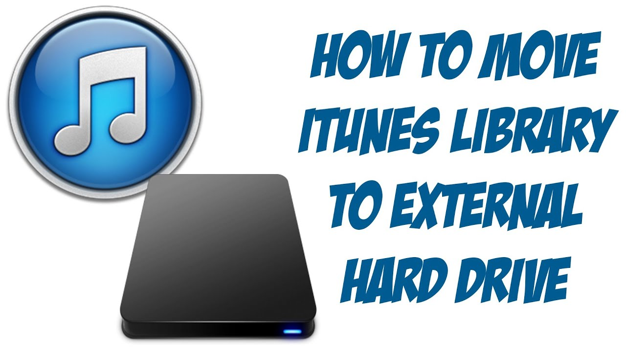 iTunes 11 Tutorial - How To Move iTunes Library To External Hard Drive