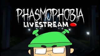 PHASMOPHOBIA LIVESTREAM TEST With Kristian PH LBD and Peediem