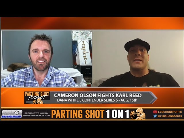 DWTNCS 6's Cameron Olson talks Karl Reed matchup, training at Roufusport & Game of Thrones