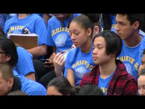 San Diego High Students Get Excited About University Of California