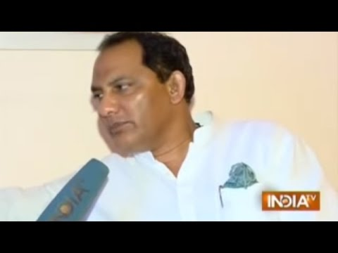 Congress Leader and Cricketer Mohammad Azharuddin Exclusive Interview