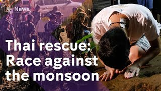 Thai rescue: pressure on as monsoon approaches