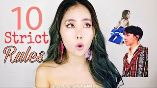 10 Strict Rules Kpop Artists Must Follow | 그레이스