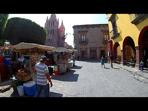 San MIguel de Allende - Walking Tour