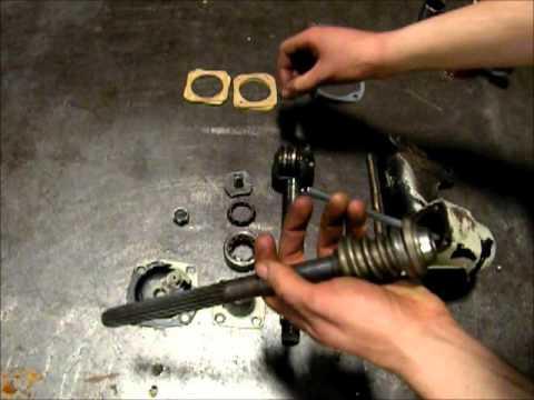 1955 Thunderbird Steering Gearbox Rebuild  YouTube