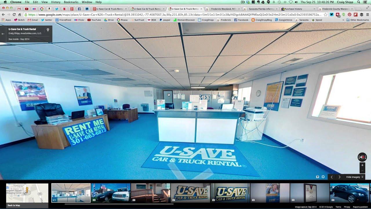 U Save Auto Rental >> U Save Car Truck Rental Frederick Md Google Business View