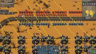 Factorio MEGABASE 0.16 Odcinek #48 - OGROMNA Fabryka niebieskich płytek pt2