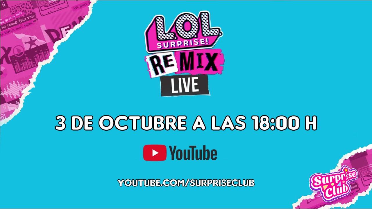 ¡Muy pronto llega LOL Surprise Live Remix en 360º!