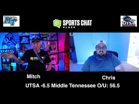 UTSA at Middle Tennessee - Friday 9/25/20 - College Football Picks & Prediction | Sports Chat Place