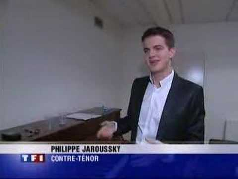 French feature about Philippe Jaroussky