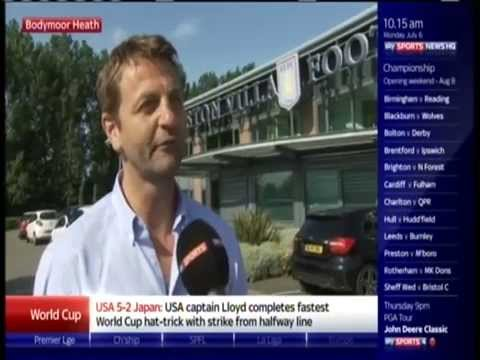 Tim Sherwood bet with Sky Sports Reporter