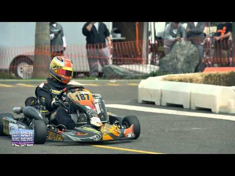 Karting Grand Prix In Dockyard, March 16, 2015