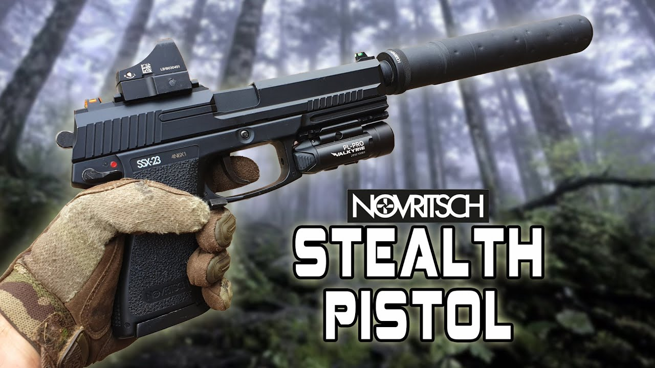 Ultimate Stealth Snipers Sidearm (Novritsch SSX-23 MK23)